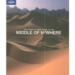 The Lonely Planet Guide to the Middle of Nowhere Cover