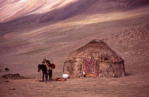 2004 Kyrgyz yurt at Kashch Goz, Little Pamir, Wakhan, Afghanistan