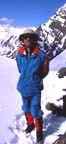 2002 John Mock on Ghidims Pass South (5,650 metres), Shimshal, Gojal, Northern Pakistan