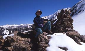 2004 John Mock on Dilisang Pass on the Afghanistan-Pakistan border